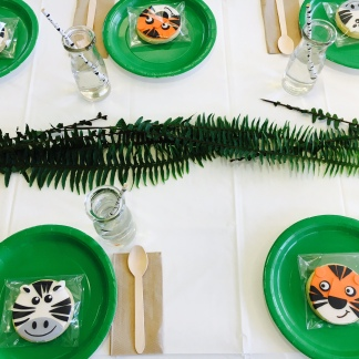 Table set for the young ones.